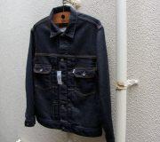 Trucker Knit Denim Jacket(1 Wash)