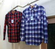 Flannel Check L/S Oversized Shirt