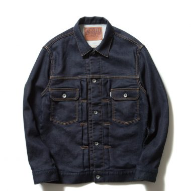 Trucker Knit Denim Jacket(1 Wash)