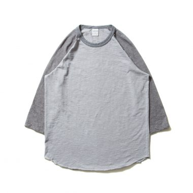 Slab 3/4 Raglan Sleeve Tee-Gray×L.Gray-