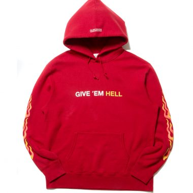 Print Pullover Parka (GIVE 'EM HELL)