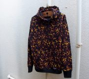 Flames Pullover Parka