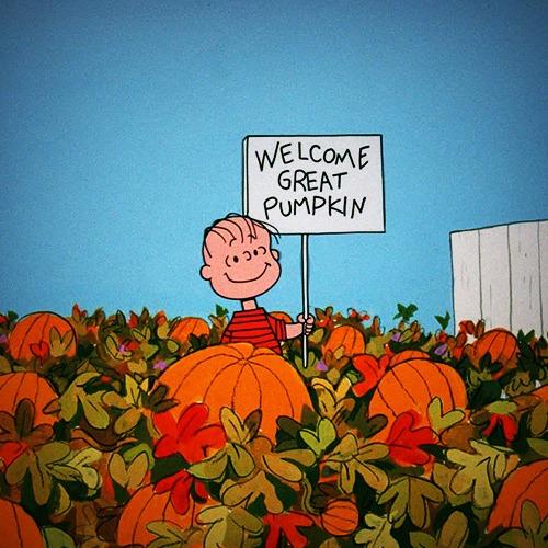WELCOME GREAT PUMPKIN!!