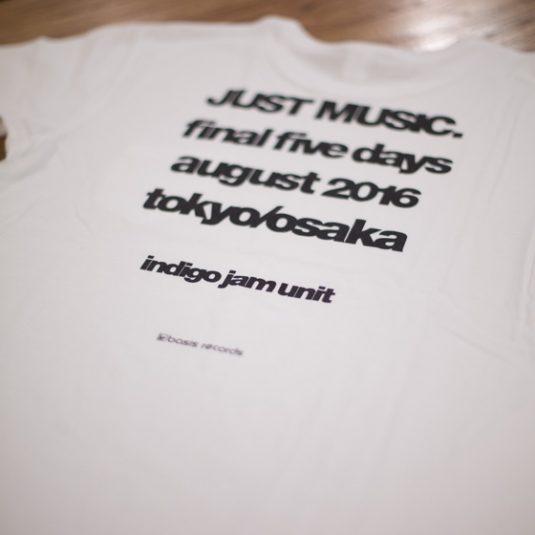 indigo jam unit JUST MUSIC. final five days August 2016 2DVD