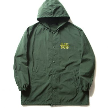 Bench Jacket (GIVE 'EM HELL)-Green-