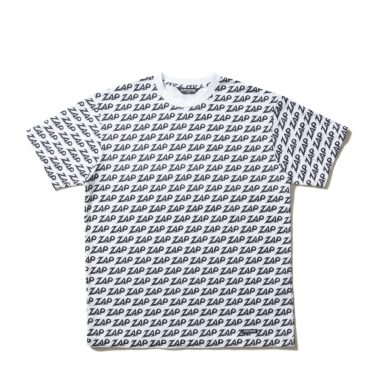 Zap All Over S/S Tee-White-