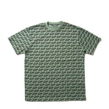 Zap All Over S/S Tee-Green-