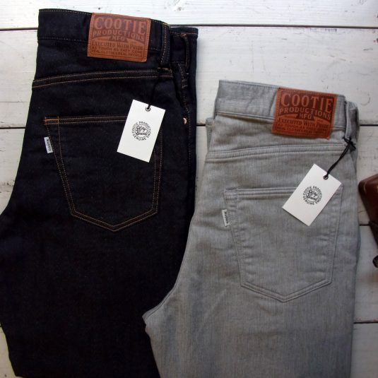 5 Pocket Loose Fit Knit Denim (1Wash)