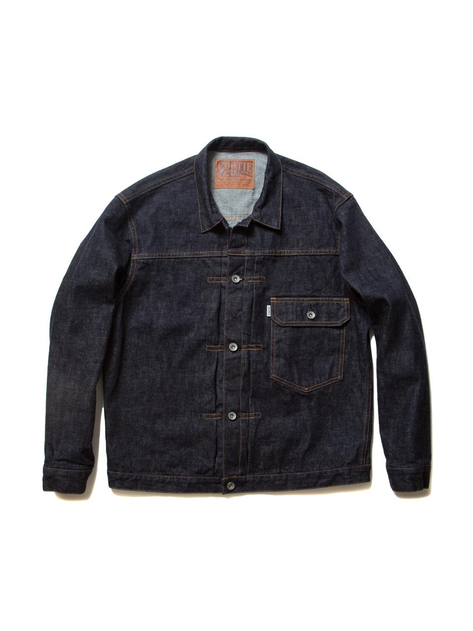 """""""Type 1"""" Denim Jacket-Indigo_1_Wash"""