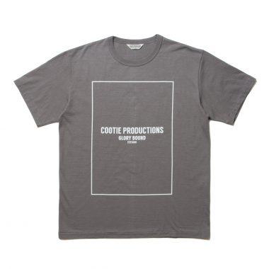 Print S/S Tee (COOTIE LOGO)-Gray