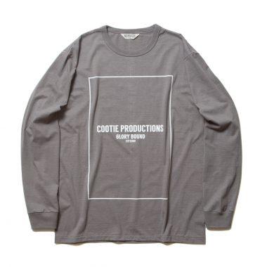 Print L/S Tee (COOTIE LOGO)-Gray