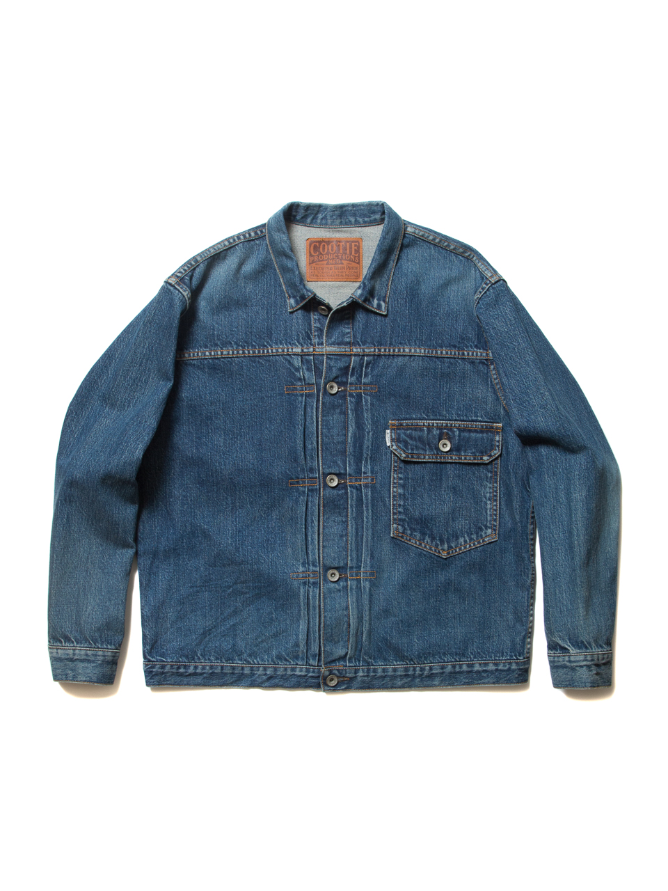 """Type 1"" Denim Jacket-Indigo_Used_Wash"