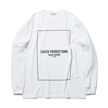 Print L/S Tee (COOTIE LOGO)-White