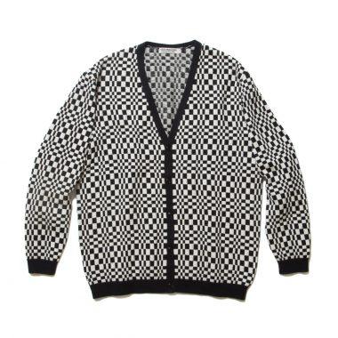 Crazy Checkered Cardigan