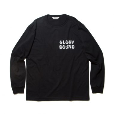 Print L/S Tee (LIFE OF THE OUTCASTS)-Black