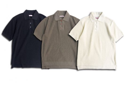 A.R.C Knit Polo Shirt.