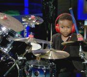 Amazing Kids: Baby Drummer L.J. Wilson