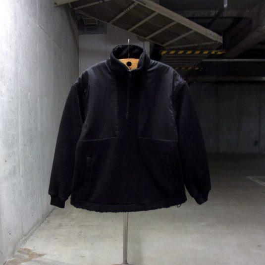 Half Zip Boa Jacket