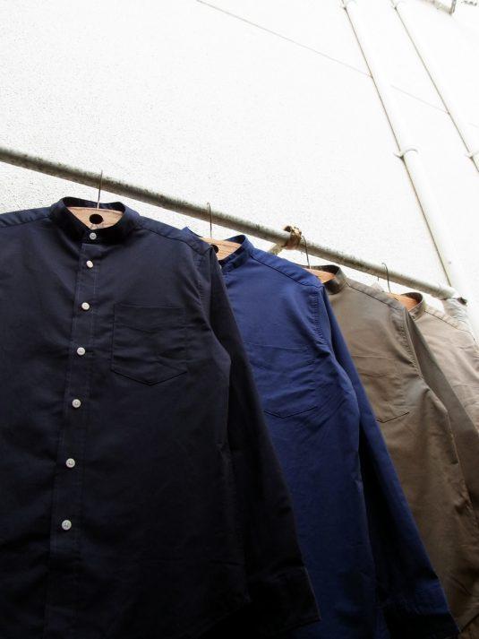 Stretch Bandcollar Shirts