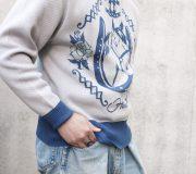 Horse Jacquard Knit.