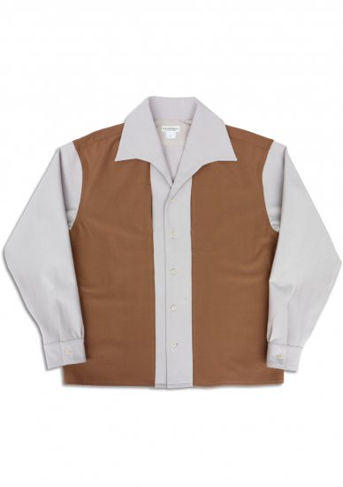 N Camp Collared Panel Shirt.