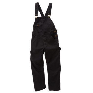 Stretch Overall-Black-