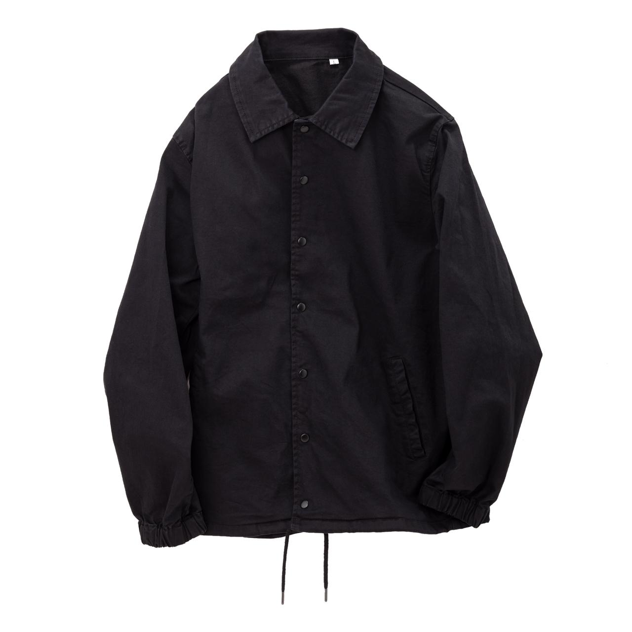 Stretch Coach Jacket-Black-