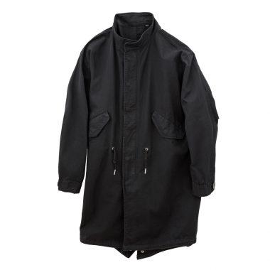 M65 Fishtail Tyep Jacket-Black-